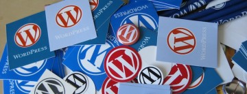 Notecards with the WordPress logo on them
